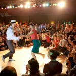 Dancing with Chance Bushman at Lindy Focus 2011, Asheville USA // Photo by Jessica Keener