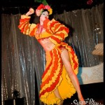 Carmen Miranda tribute for Sugar Blue Burlesque, Perth Australia // Photo by Gregory Bruyer