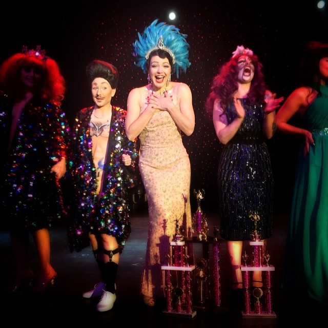 Double Win At Burlesque Hall Of Fame 2014 In Las Vegas