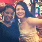 Bonnie Fox & Perle Noire in Las Vegas June 2014 for Burlesque Hall of Fame (BHoF)