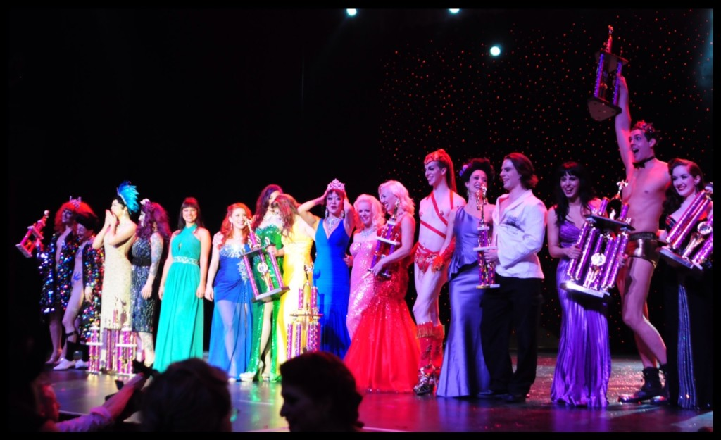 Burlesque Hall of Fame 2014 winners